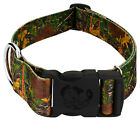Country Brook Petz® 1 1/2 Inch Deluxe Southern Forest Camo Dog Collar