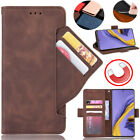 Magnetic Leather Phone Case Slim Flip Wallet Card Slot Pocket Protection Cover