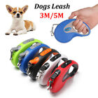 Lead  Retractable Automatic Cord Tape Dogs Leash Traction Rope Dog Leads