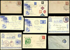 GB PHILATELIC EXHIBITIONS 1890 JUBILEE +1938 + 1950 COVERS CARDS EACH ONE PRICED