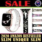 For Apple Watch Band Series 6 5 4 3 2 Sport Silicone Iwatch Strap Wristband Slim