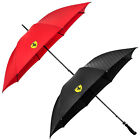 Scuderia Ferrari Large Umbrella Red Black Motorsport Formula 1 Golf Carry Case