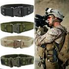 Men's Tactical Belt Military Training Canvas Outdoor Army Camouflage Waistband