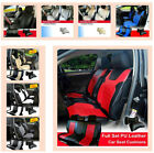 PU Leather Car Seat Covers Cushion Full Set Front/Rear Dodge Multi-Colored $89.95 USD on eBay
