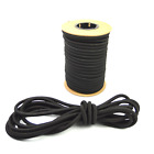 "1/2"" Black Shock Cord Marine Grade Bungee Heavy Duty Tie Down Stretch Rope Band"