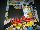 NES GAMES WITH MANUAL & SLEEVE  CLASSIC TITLES GR8T LABELS HQ CARTS WORK LQQK!