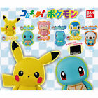 Pokemon ColleChara Mini Figure Collection Pikachu Slowpoke Squirtle Piplup