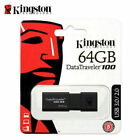 Kingston 16GB 32GB 64GB 128GB USB 3.0 Flash Pen Drive Data Traveler DT100 G3 NEW