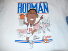 Authentic Detroit Pistons Bad Boys Dennis Rodman Character T-shirt LL099 on eBay