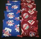 PHILADELPHIA PHILLIES  CORNHOLE BEAN BAGS 8 ACA Reg made w TEAM Fabric on Ebay