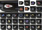 "NFL Team Chiefs Steelers Eagles Hitch Cover Color on Black 3.4""x4"" NFL FANMATS $21.99 USD on eBay"