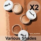 Avon Mark Loose Powder Mineral Foundation -was Calming effects Various Shades X2