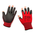 Traffiglove TG150 3 Digit Cut Level 1 Fingerless Product Assembly Safety Gloves