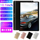 10.1 Inch Android 8.0 Tablet 4G-LTE IPS HD 8 128GB Call/GPS Dual SIM/Phone