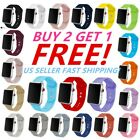 Silicone Band Bracelet Strap Sports Bands Apple Watch iWatch Series 1 2 3 4 5 image