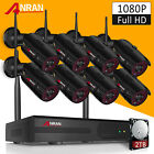 ANRAN 1080P Wireless Security Camera System Outdoor WIFI 8CH NVR P2P 2TB HDD APP for sale  Shipping to Nigeria