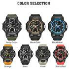 SMAEL Mens Watches Military Army Waterproof Wristwatches Sports Fashion image