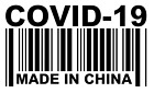 Made In China Covid Vinyl Decal, Bumper Sticker, Virus, Funny, 19, Outdoors, Etc