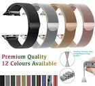 Apple Watch Series 5,4,3,2,1 Milanese Magnetic Stainless Steel Band iWatch Strap image