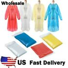 Staydry Waterproof Adult Rain Poncho festival Disposable Lightweight Fast P/&P