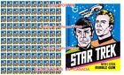 STAR TREK 1976 Kirk & Spock ENTERPRISE = POSTER Wax Pack 3 SIZES 3.5 - 4.5 FEET on eBay