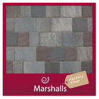 BLOCK PAVING MARSHALLS NATRALE 50mm 3 SIZES MIN ORDER 3 PACKS MIX & MATCH UK