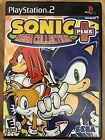 Sonic games (PlayStation 2) PS2 TESTED