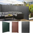 Privacy Fence PVC Bamboo Screening Fencing Screen Panel Balcony Garden Cover