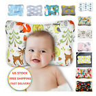 Baby Cotton Pillow Head Protector Anti Roll Cushion Pillows Mesh Memory