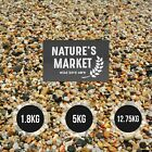 12.75KG / 5 KG / 1.8KG WILD BIRD SEED MIX FOOD NATURES MARKET ALL SEASONS FEED