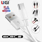 Fast Charging Cable For Type-C IOS Micro USB Braided Cable For Android...