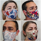 High Quality Reusable Face Mask Unisex Washable Kids Adults Best USA Patriotic