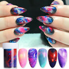 Nail Foils Colorful Stars Galaxy-Series Nail Art Transfer Stickers Decals Tips