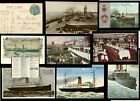 ISLE of MAN STEAM PACKET Co. SHIPS ..POSTCARDS.. MESSAGES. Priced Individidually