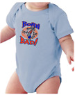 Infant creeper bodysuit One Piece t-shirt Born To Be Bad Wolf k-1825