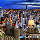 3D Night city light 100 WallPaper Murals Wall Print Decal Wall Deco AJ WALLPAPER