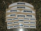 NEW ENGLAND PATRIOTS Bumper Football Helmet Decal Set Qty (1) Set 3M 20MIL $6.99 USD on eBay
