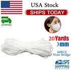 Купить Nose Bridges with Braided Elastic Band Cord Sewing for Face Masks making