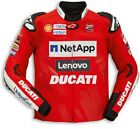 Ducati Alpinestars Replica Moto Gp Team 19 Leather Jacket Limited New