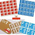 BRAND NEW genuine Royal Mail 1st and 2nd Class Postage Stamps - Small or Large