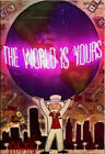 Alec Monopoly graffiti art oil painting art print on canvas The World Is Yours