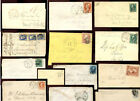 USA 19th Century envelopes covers postmarks etc PRICED INDIVIDUALLY