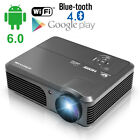 HD Android Projector Wireless Bleutooth Wifi 1080P Video Movie Home Theater HDMI