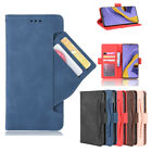 For Iphone Xiaomi Redmi Multi-card Slot Pu Leather Magnetic Stand Case Cover