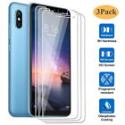 3Pcs For Xiaomi Redmi Note 8 7 Pro 9s 8T 7A 8A 8 Tempered Glass Screen Protector