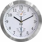 hito Modern Silent Wall Clock Non ticking 10 inch Excellent Accurate Sweep