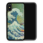 Japanese Waves Art - Protective Phone Case Cover fits iPhone SE 6 7 8 X 11 Pro