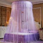Foldable Elegant Dome Bedding Mosquito Canopy Princess Bed Tent Curtain Hong2 image