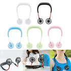 Kyпить Portable USB Rechargeable Neckband Lazy Neck Hanging Dual Cooling Mini Fan US на еВаy.соm