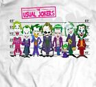 COMIC BOOK STYLE THE USUAL JOKERS OLDSKOOL SHIRT* MANY OPTIONS